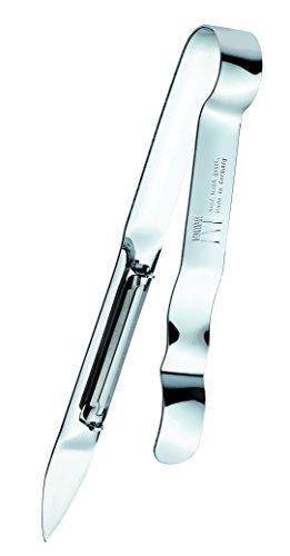 Westmark Spargel-/ Gemüse-Schäler mit geschliffenem Messer, 17,5 x 5,1 cm, Asparago, Edelstahl, 60715560 -