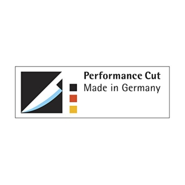 WMF Santokumesser Spitzenklasse Plus Länge 32 cm Klingenlänge 18 cm Performance Cut Made in Germany geschmiedeter Spezialklingenstahl fugenlos vernieteter Griff aus Kunststoff Art. Nr. 1892316032 -