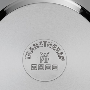 WMF Spargeltopf Ø 16 cm ca. 4,5l Schüttrand Cromargan Edelstahl poliert Korbeinsatz induktionsgeeignet spülmaschinengeeignet -