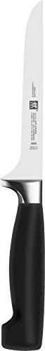 Zwilling Vier SterneAusbeinmesser, 140 mm (Rostfreier Spezialstahl, Zwilling Sonderschmelze, Kunststoff) schwarz -