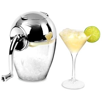 Ice Crusher Verchromt durch bar@drinkstuff - Manuelle Eis Crusher Maschine, Eiszerkleinerer -