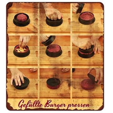 palini 00113 3in1 Profi Hamburgerpresse -