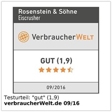 Rosenstein & Söhne Eiscrusher -
